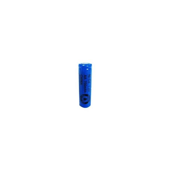 NiCD Batterie AA 700 mAh Flach - 1,2V - Evergreen