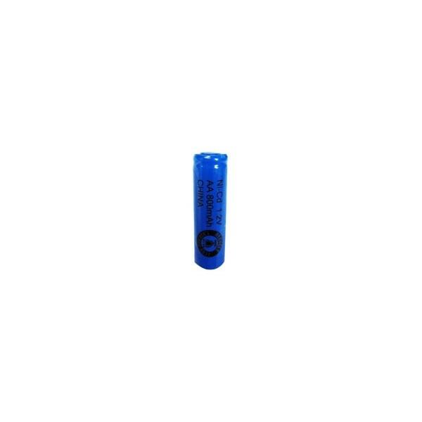 NiCD Batterie AA 800 mAh tête plate - 1,2V - Evergreen