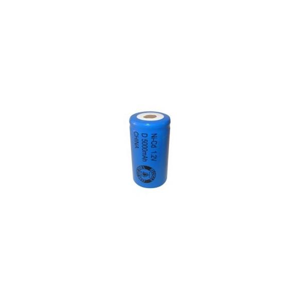 NiCD Batterie D 5000 mAh Flach - 1,2V - Evergreen