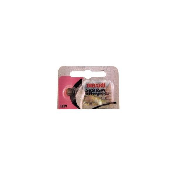 Knopfzelle SR616 / 321 - 1,55V - Silberoxid - Maxell