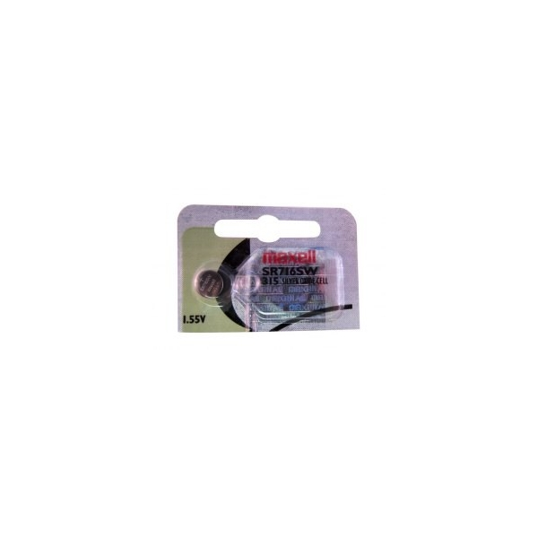Knopfzelle SR716 / 315 - 1,55V - Silberoxid - Maxell