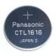 Pile CTL1616 Rechargeable pour montre Casio G-Shock Solaire