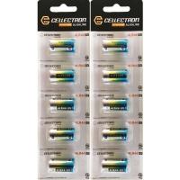 10 x Alkaline Batterie 4LR44 / 476A - 6V
