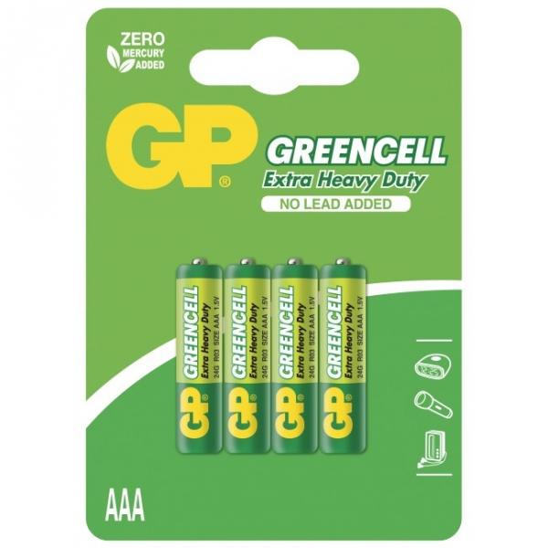 Saline Batterie 4 X AAA / R03 - 1,5V