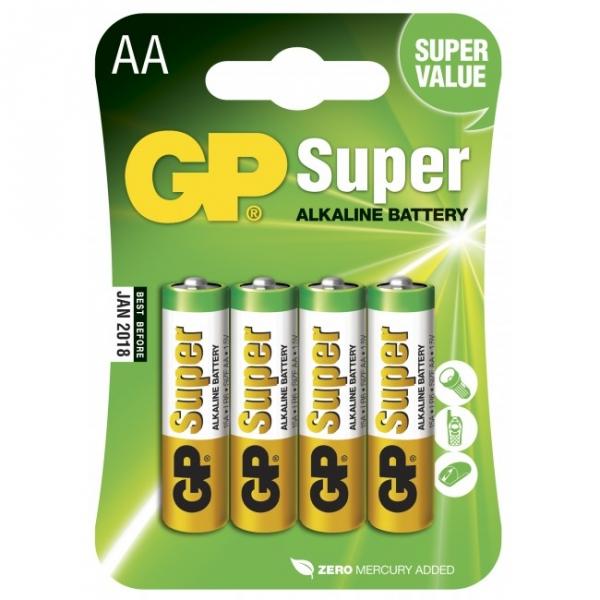 alkaline batterie 4 x aa lr6 1 5v gp battery. Black Bedroom Furniture Sets. Home Design Ideas