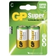 Alkaline Batterie 2 x C / LR14 - 1,5V - GP Battery