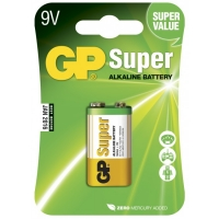 Blockbatterie Alkaline 9V / 6LR61 - GP Battery