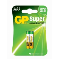 Blockbatterie Alkaline 2 x AAAA / LR61 SUPER - 1,5V - GP Battery