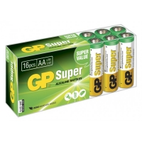 Blockbatterie Alkaline 16 x AA / LR6 SUPER - 1,5V - GP Battery