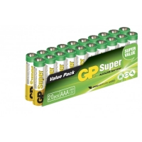 Blockbatterie Alkaline 20 x AAA / LR03 SUPER - 1,5V - GP Battery