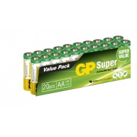 Blockbatterie Alkaline 20 x AA / LR6 SUPER - 1,5V - GP Battery