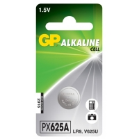 Alkaline Knopfzelle 1 x GP 625A / LR9 / V625U - 1,5V - GP Battery