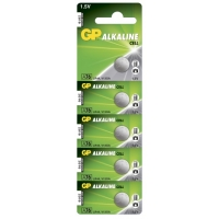 Alkaline Knopfzelle 5 x GP A76 / LR44 / V13GA - 1,5V - GP Battery