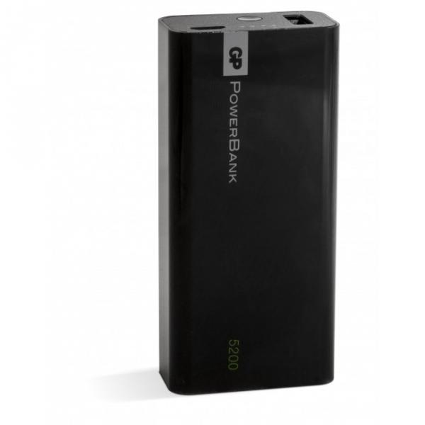Tragbare batterie Yolo 5200 mAh, 1C05A, schwarz