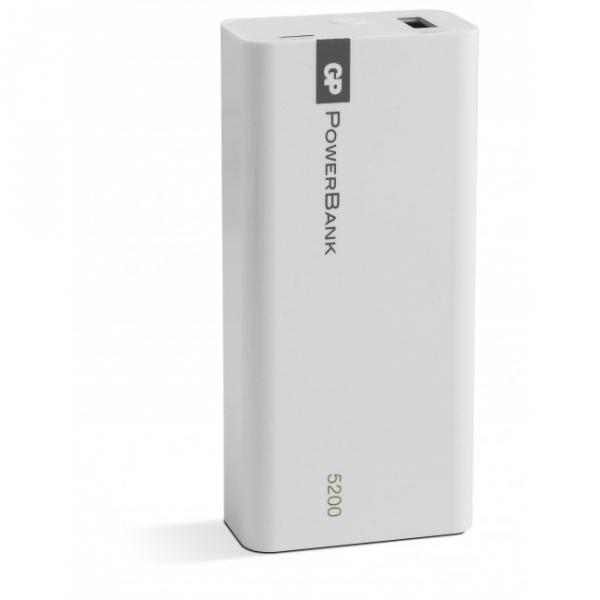 Tragbare batterie Yolo 5200 mAh, 1C05A, weiß