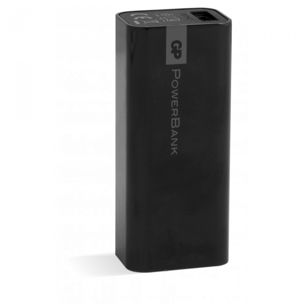 Tragbare batterie Yolo GP 1C02A 2600mAh In 1A / Out 1A / Li-Ion, schwarz
