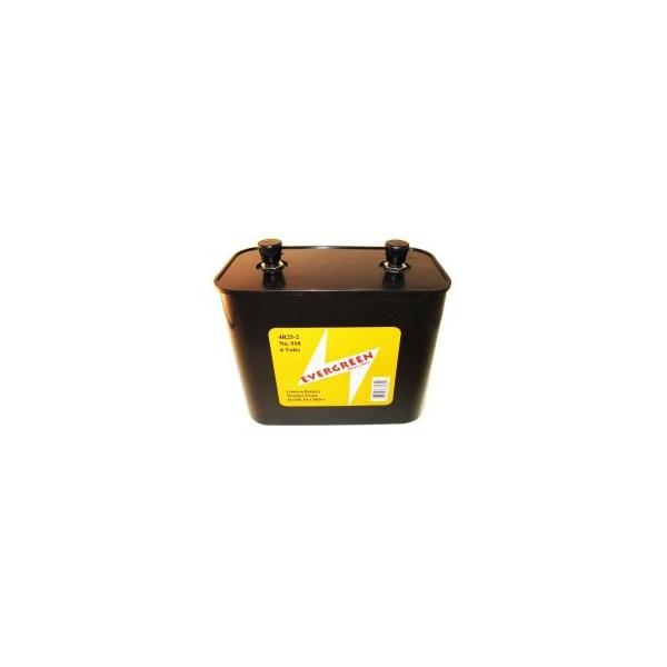 Batterie Alkaline 4R25-2 - 6V - Evergreen