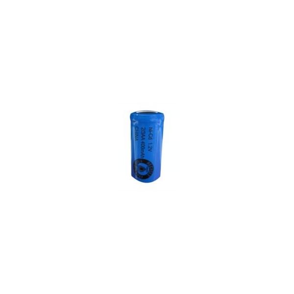 Batterie NiCD 2/3 AA 400 mAh Flachkopfbatterie - 1,2V - Evergreen