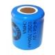 Batterie NiCD 1/2 Sub C 700 mAh Flachkopfbatterie - 1,2V - Evergreen