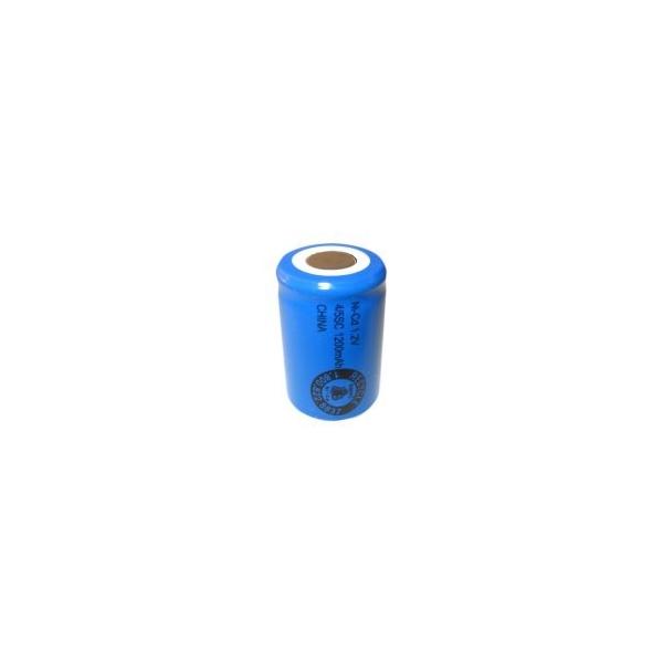 Batterie NiCD 4/5 Sub C 1200 mAh Flachkopfbatterie - 1,2V - Evergreen