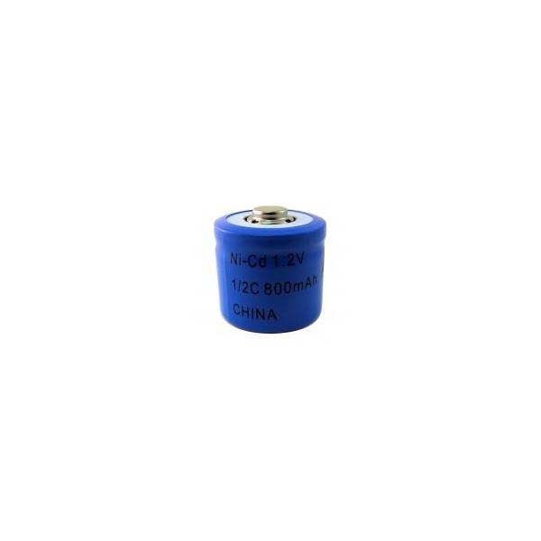 Batterie NiCD 1/2 C 800 mAh - 1,2V - Evergreen