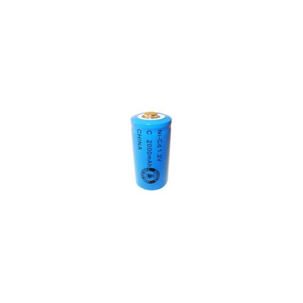 Batterie NiCD C 2000 mAh - 1,2V - Evergreen