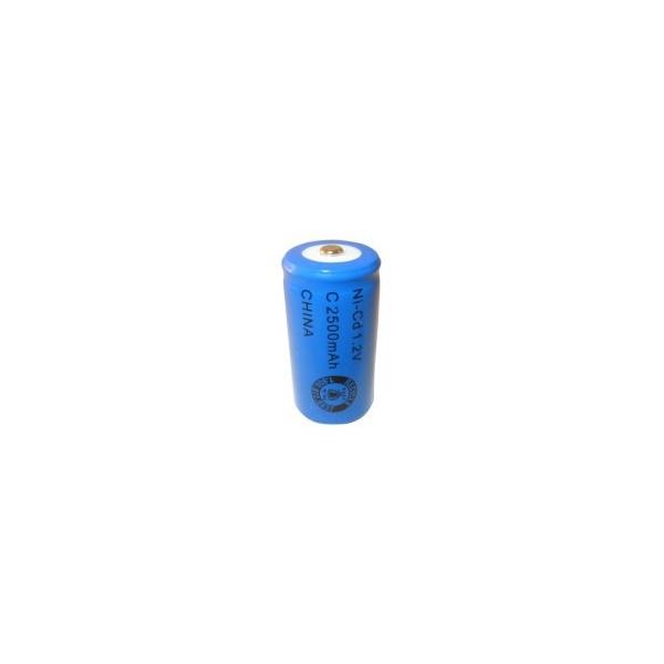 Batterie NiCD C 2500 mAh - 1,2V - Evergreen