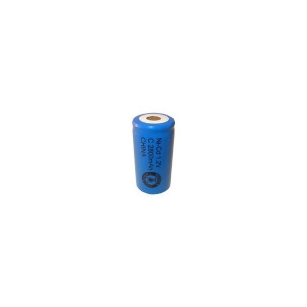 Batterie NiCD C 2800 mAh Flachkopfbatterie - 1,2V - Evergreen