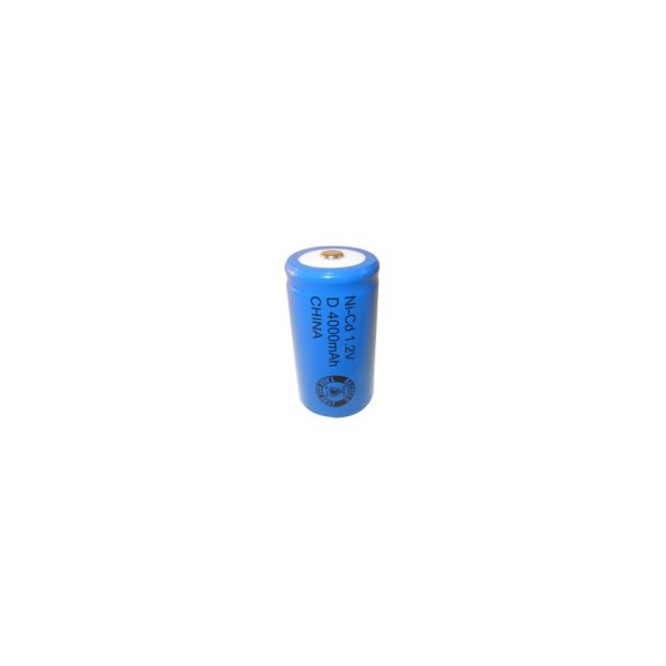 Batterie NiCD D 4000 mAh - 1,2V - Evergreen
