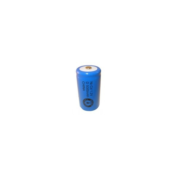 Batterie NiCD D 5000 mAh - 1,2V - Evergreen