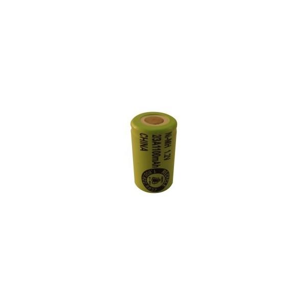 NiMH Batterien 2/3 A 1100 mAh Flachkopf- 1,2V - Evergreen