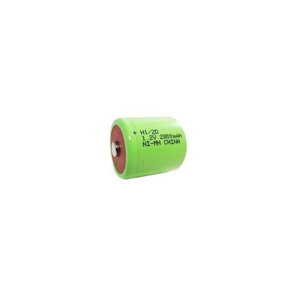 Batterie NiMH 1/2 D 2900 mAh - 1,2V - Evergreen