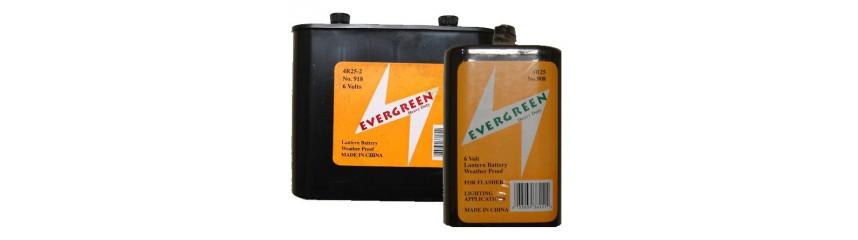 Batterien für Laternen
